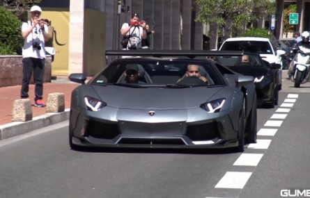 Lamborghini Huracan i Aventador z body kitami od Liberty Walk