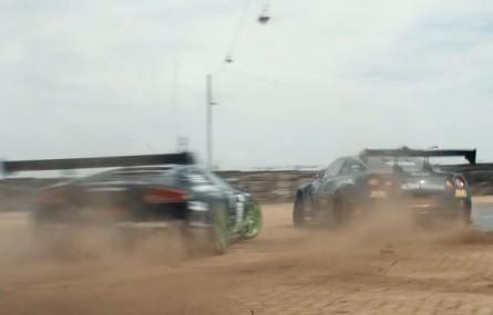 Nissan GT-R vs Lamborghini Murcielago w driftingowym pojedynku