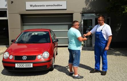 Volkswagen Polo z 2004 roku przejechał milion kilometrów!