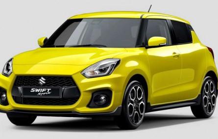Nowe Suzuki Swift Sport zadebiutuje na salonie we Frankfurcie