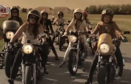 Coś na poniedziałek, czyli dziewczyny na motocyklach