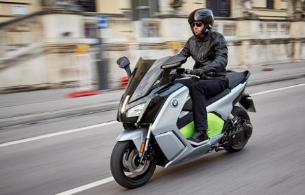 Elektryczny skuter BMW C Evolution trafił do Polski