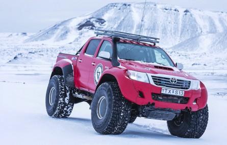 Nokian Hakkapeliitta 44: owoc współpracy Nokian Tyres z Arctic Trucks