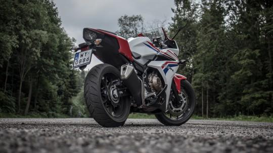 Honda CBR500R/fot. Łukasz Kuźmiuk