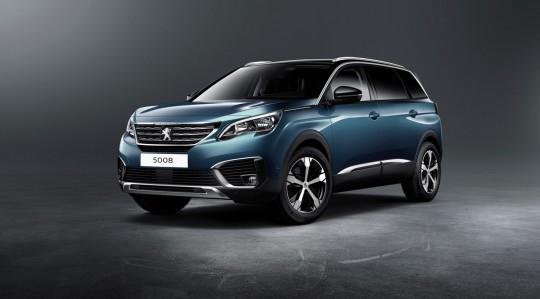 Peugeot 5008/fot. Peugeot