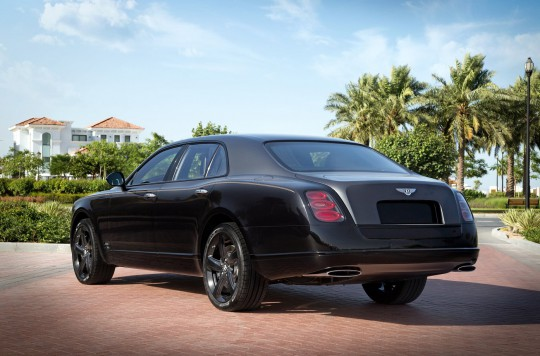Bentley Mulsanne Sinjari Edition/fo...