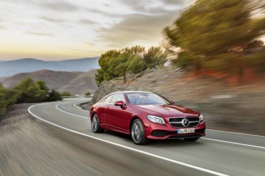 Mercedes-Benz Klasy E Coupe/fot. Me...